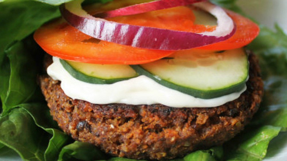 Farm to Table Sprouted Lentil Burgers