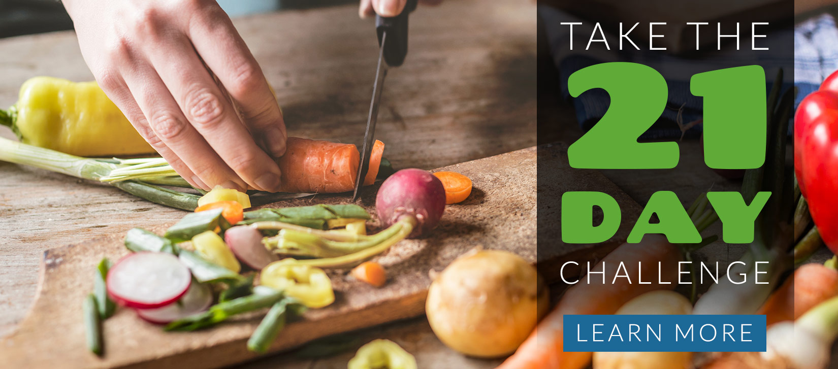 Take The 21 Day Challenge